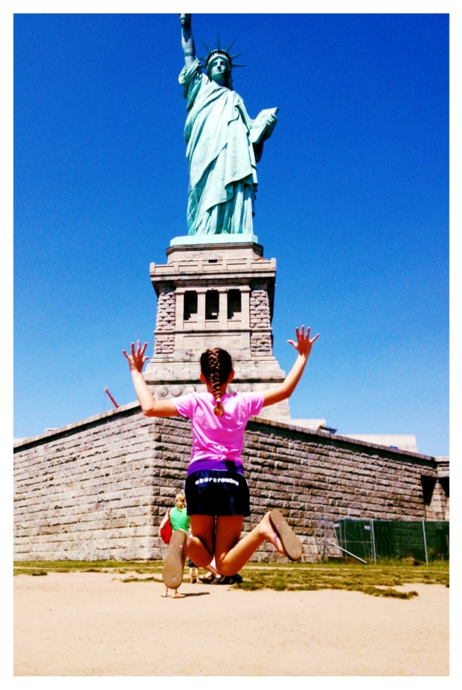 statue of liberty, inspiration, travel