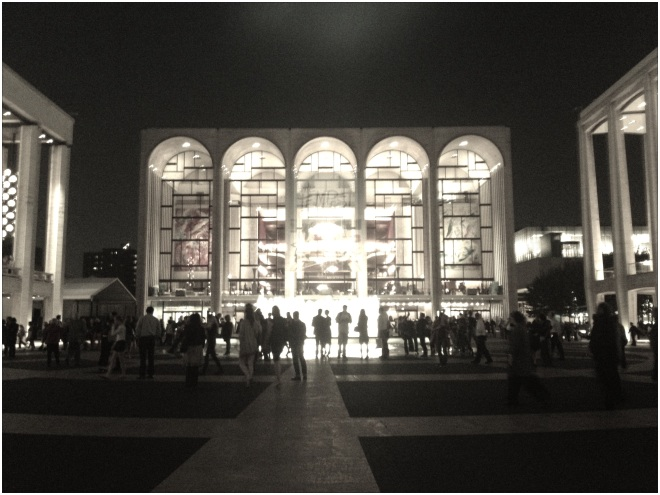 lincoln center opera house
