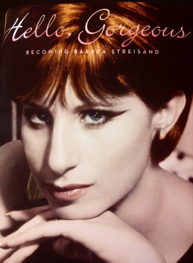 Barbra Streisand hello, gorgeous book signing