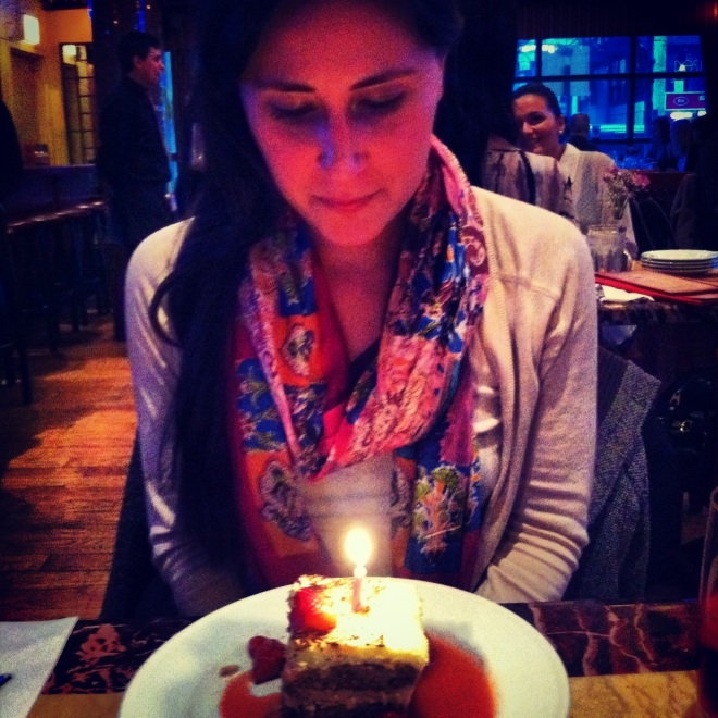 candle birthday wish