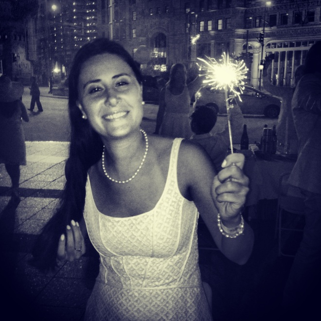 sparkler happy new year resolution